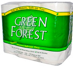Green Forest Unscented Bathroom Tissue (8x12PK )