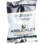 Arbuckles' Coffee Decaffeinated Colombian 1.3 oz Case of 10