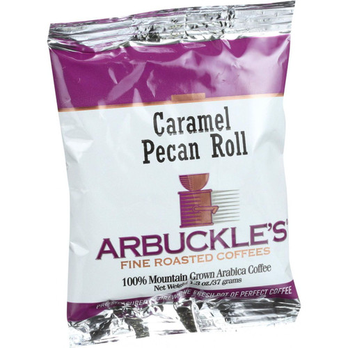 Arbuckles' Coffee Caramel Pecan Roll 1.3 oz Case of 10