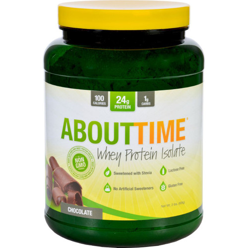 About Time Whey Protein Isolate Chocolate 2 lb