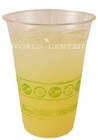 World Centric Clear Cups, Cold, 16 Oz (12x20 CT)