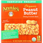 Annies Homegrown Granola Bar Organic Peanut Butter Chewy 5.9 oz case of 12