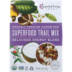 Essential Living Foods Trail Mix Organic Superfood Energy Blend 8 oz case of 6