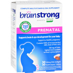 BrainStrong Prenatal 30 Tablets