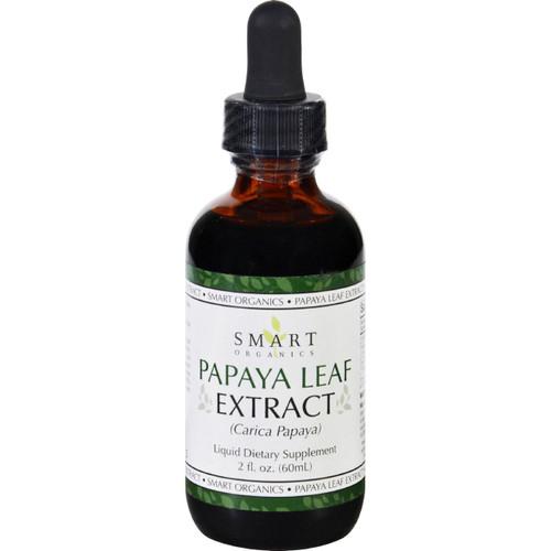 Bio Nutrition Papaya Leaf Extract Smart Organics 2 oz