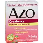 Azo Cranberry Caps 50 Caplets