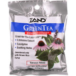 Zand Counter Display Herbal Supplement HerbaLozenge Green Tea with Echinacea 15 lozenges case of 12