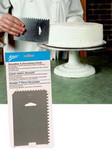 Ateco Decorating Comb & Icing Smoother