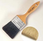 Ateco White Flat Pastry Brush 2 Inch