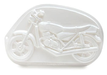 CK Products Motorcycle (8 X 14) Pantastic Cake Baking Pans