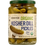 Woodstock Kosher Dill S Pickles (6x24 Oz)