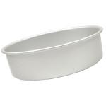 "Fat Daddio's Round cake pan solid bottom 11""x2"""