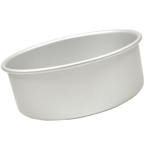 "Fat Daddio's Round cake pan solid bottom 11""x4"""