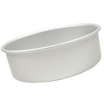 "Fat Daddio's Round cake pan solid bottom 8""x3"""