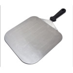"Fat Daddio's Pizza Peel, stainless steel, 12.25"" square blade, 19.5"" overall length"