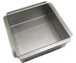 Ultimate Baker Square Cake Pan 4  x 4 x 2  (Single)