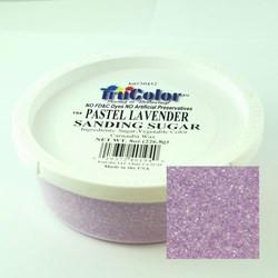 TruColor Confectioner's Sanding Sugar (Fine Crystals) Pastel Lavender (12x8oz)