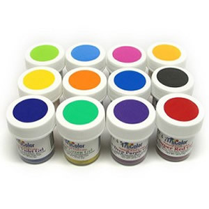 TruColor 40175 12pc Gel Paste Collection