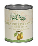 DGF Coeur Sauvage Whole Baby Pears in Light Syrup (2.2 LB)