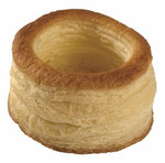"Jean Ducourtieux Bouchee Hoteliere, 3.25"" Puff Pastry Shell (72 EA)"