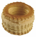 "Jean Ducourtieux Mini Bouchee, 1.25"" Puff Pastry Shell (240 EA)"