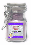 Ultimate Baker Natural Powdered Sugar Purple (1x2oz Glass)