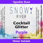 Snowy River Cocktail Glitter Purple (1x5.0g)