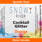 Snowy River Cocktail Glitter Orange (1x5.0g)
