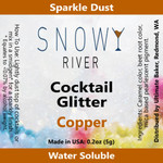 Snowy River Cocktail Glitter Copper (1x5.0g)