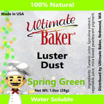 Ultimate Baker Luster Dust Spring Green (1x28g)