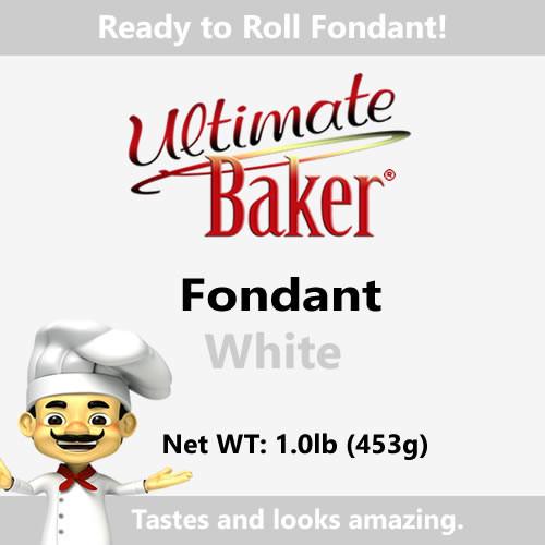 Ultimate Baker White Fondant (1x1.1lbs)