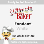 Ultimate Baker White Fondant (1x2.5lbs)