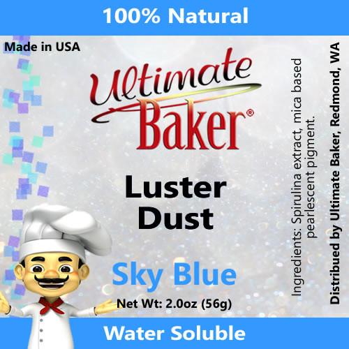 Ultimate Baker Luster Dust Sky Blue (1x56g)