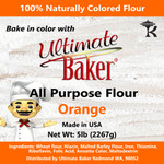 Ultimate Baker All Purpose Flour Orange (1x5lb)