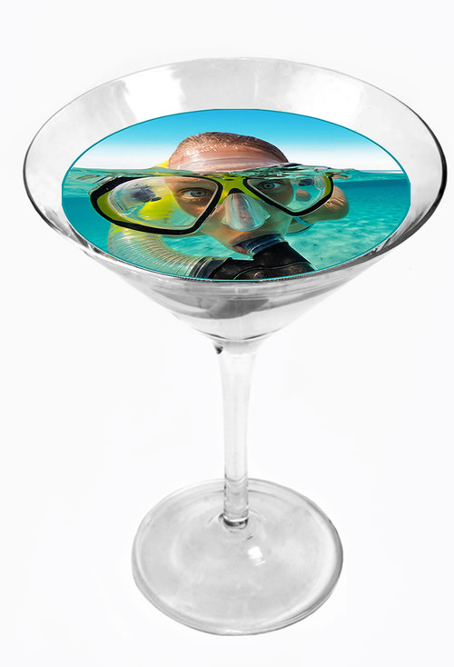 Snowy River Cocktail Toppers Snorkling (1x6Pack)