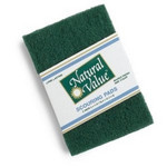 Natural Value Scouring Pad Sponge (24x2 CT)