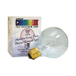 Chromalux Light Bulb GoLbe Clear 40W Bulb