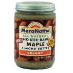 Maranatha Maple Raw Almond Butter (12x12 Oz)