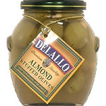 De Lallo Olives, Almond Stuffed (6x7Oz)