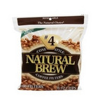 Natural Brew Coffee Filters Cone, #4 (12x40CNT )