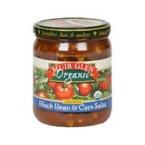 Muir Glen Black Bean & Corn Med Salsa (12x16 Oz)