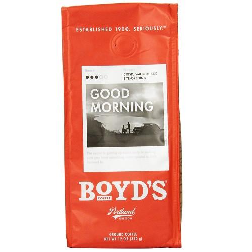 Boyds Coffee Good Morning (6x12 CT)