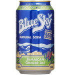 Blue Sky Ginger Ale Soda (4x6 PK)
