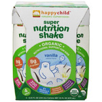 Happy Child Super Nutrition Shake Vanilla (4x4x8.25 OZ)