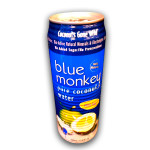 Blue Monkey Coconut Water W/Plp (24x17.6OZ )