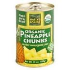 Native Forest Pineappleple Chunks (6x14 Oz)