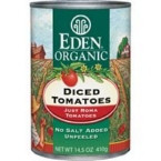 Eden Foods Diced Tomatoes (12x14.5 Oz)