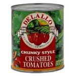 De Lallo Tom Chnk Crushed (12x28OZ )