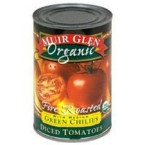 Muir Glen Org Diced Fire Roasted Tomato + Chilies (12x14.5 Oz)