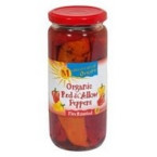 Mediterranean Organics Red Yellow Roasted Peppers (12x16 Oz)